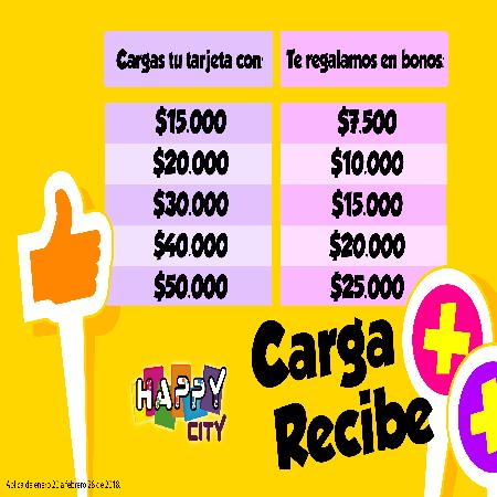 Carga + Recibe +